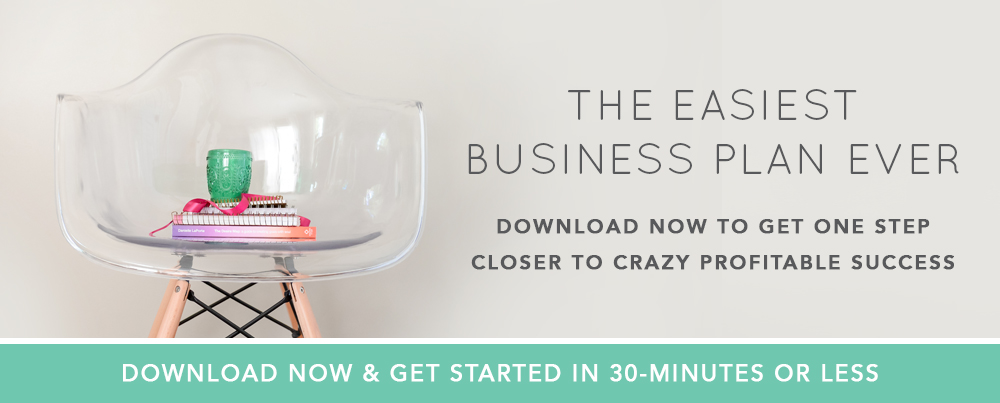 We created The Easiest Business Plan Ever and you can grab your free copy by heading here. | Think Creative Collective