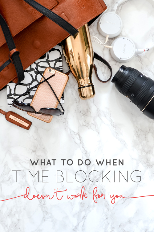 We get asked quite often from other creatives about time blocking. Do we use it in our business? How do we set it up? The truth is: we hate time blocking. It never worked for our brains, and we kind of thought part of us was broken. We thought it was time blocking or bust, and that if we didn't time block we must be scattered and fly-by-the-seat-of-our-pants type of workers. Well, we don't really fall into that category either, so what does that mean? | Think Creative Collective