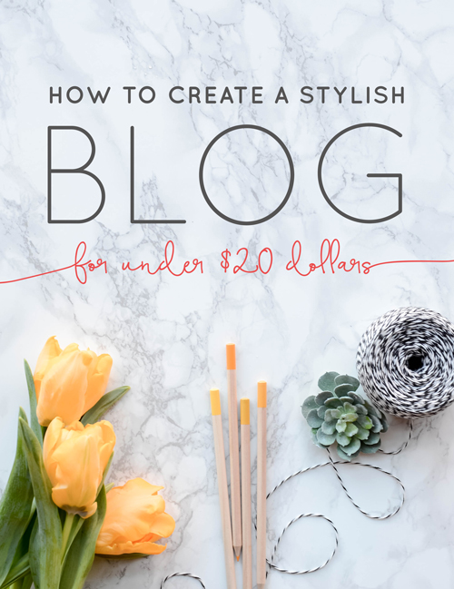 "If you are a gal like me, you like to save that money, honey! I'm so honored to have the opportunity to share to share the secrets on creating a stylish blog for under twenty dollars (yes, it's possible!) with new bloggers. If you've read my previous post: ""The Broke Girl's Guide To Blogging"" you may have remembered me talking a little bit about how I created a really cute blog that cost me the equivalent of what I pay for at Starbucks in a week. Of course going with a pro is always the best option. I got nothing but love for those amazing website developers! But if you want to start a blog and the cash is lookin' a little low, there is a way for you to still have an impressive, user-friendly website on a budget. 