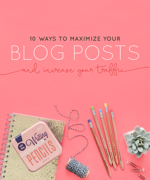 How many times have you heard you need to blog regularly? All the time, right?    And whether you are a natural or reluctant blogger you need to ensure that you are optimizing your blog to maximize the visibility of each post, your blog, and business. | Think Creative Collective
