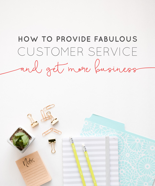 Have you ever walked away from a restaurant or retail store and been so upset about the service you received (or more accurately didn't receive)? Maybe you've been so frustrated with a business that you've vowed to never use their services again? It happens to all of us at one point or another in our lives, and it is really frickin' frustrating! And if you're anything like us you probably spend a good 2 or 3 minutes yelling – probably to yourself – about it in the car.   But, what if you're the business that's giving the poor customer service?   Think Creative Collective