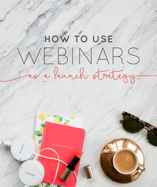 Ever since starting our business we've hosted well over 50 webinars (!!!) and love using them to educate, create hype, and grow our list - oh, and sell things.  At first glance, it may seem like it wouldn't make sense to offer webinars in your business. So we wanted to chime in with a few ideas as well as let you in on how we use them, and how you can use them to launch your next thing. | Think Creative Collective