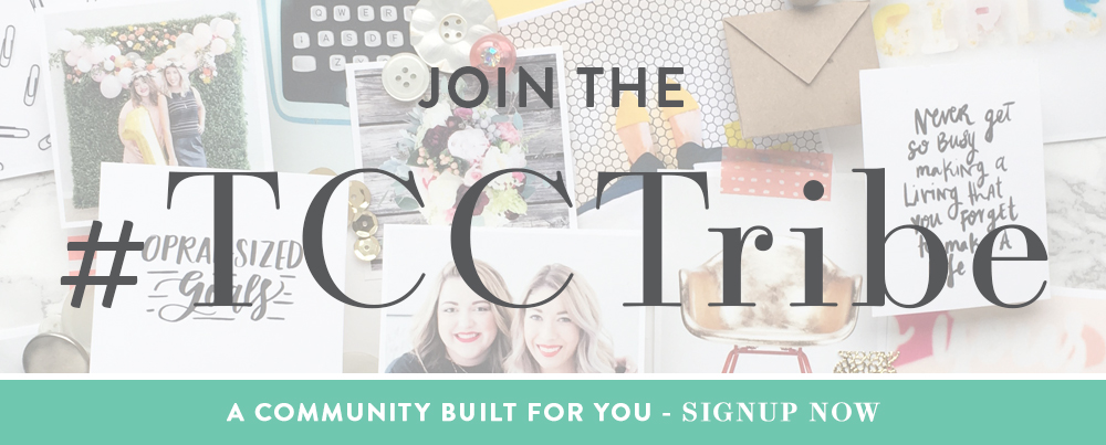 Join the #TCCTribe - A Community Built For You - SIgnup Now