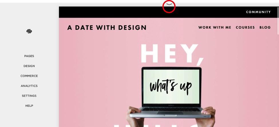 website start date