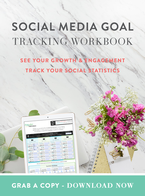 Social Media Tracking Workbook  |  Pierce Social