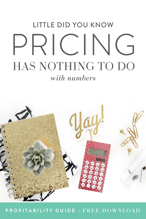 "Pricing is our jam. Figuring out our worth so we can pay our bills, grow our business and have happy clients and customers is kind of our favorite. In fact, pricing is what brought this whole thing here at TCC together (meaning it's how Emylee and Abagail met!). The very first program that we launched together was called ""Pricing for Profit"" (now known as The Money Making Creative). All that to say we've had the conversation about pricing with other creatives many a time, and you want to know a big fat spoiler? When it comes to mindset and ""do you think they will pay $X?"", pricing has absolutely nothing to do with numbers.  