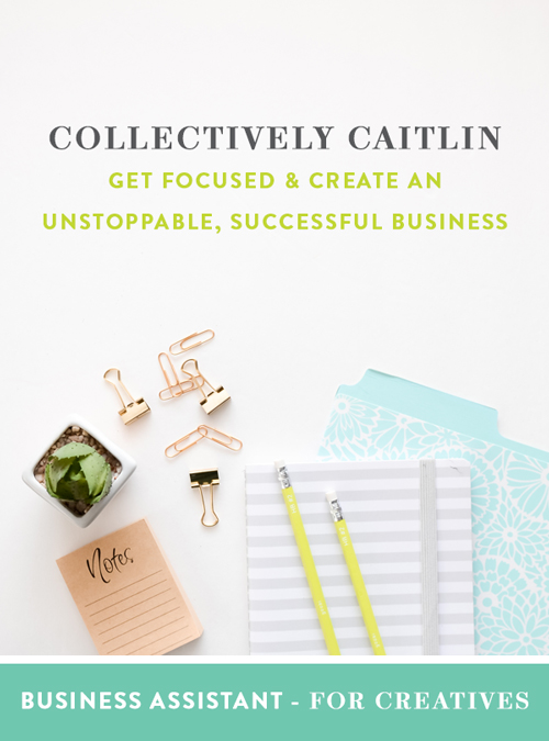 Collectively Caitlin - Business Assistant For Creatives