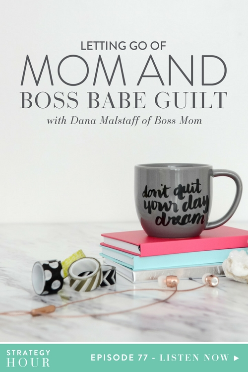 Today on the podcast, we have Dana Malstaff of Boss Mom. She is a mother, author, business owner, content strategist, coach, podcaster and blind spot reducer. Dana is a big deal! We have known Dana for quite some time now, but she has been guiding moms all over the internet for a while and helping them nurture their businesses and figure out this whole game of growing an empire while growing a family.  |  The Strategy Hour  |  Think Creative Collective