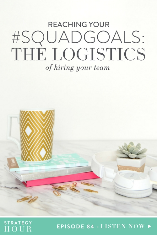 When people think of hiring, they often think that it is a complicated, convoluted, crazy process. But the truth is, it really doesn't have to be. On today's show, we break down the logistics of hiring into five basic action steps. First, by recognizing the gap in your business. Second, by putting your feelers out into the hiring marker. Then third, once you've got your list, narrowing it down to a promising employee selection. Next, negotiating pricing and then finally, locking it down with a contract. See, not too complicated, right?  |  The Strategy Hour  |  Think Creative Collective