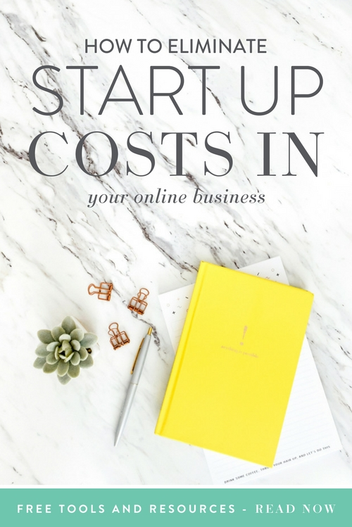 When it comes to starting a business, there are usually a lot of overhead costs. Let's be honest, those overhead costs can get overwhelming rather quickly, can't they? You have people coming from every angle recommending that you use this cool new tool that they use because it got them one billion followers. Well, that's a slight exaggeration, but you know what I mean!  |  Think Creative Collective
