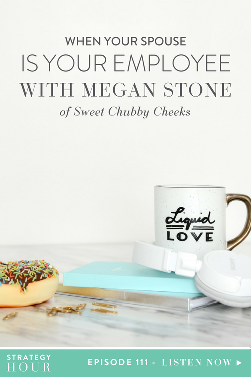 We have a crowd favorite on the podcast today: Megan Stone, owner of Sweet Chubby Cheeks. Megan is a proud Momma of two wonderful kiddos. Her designs are inspired by her daughter, and the need she had to find quality outfits for photo sessions and headbands for everyday wear. She quickly found that other moms had the same desire and Sweet Chubby Cheeks was born!  |  The Strategy Hour  |  Think Creative Collective