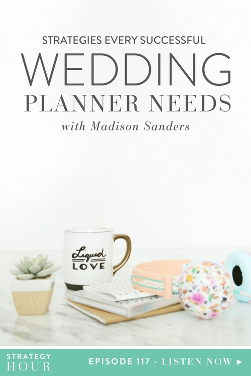 Strategies Every Successful Wedding Planner Needs with Madison
