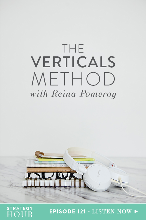 Today on the podcast we have Reina Pomeroy. Reina is the founder of Reina and Co. She is a life and business success coach and helps right-brained, heart-centered women be their best selves. We have loved Reina for a long time and have been able to watch Reina's business grow and prosper. We definitely have a personal connection with her and are excited for you to hear the amazing things we jumped into in this podcast.  |  The Strategy Hour  |  Think Creative Collective