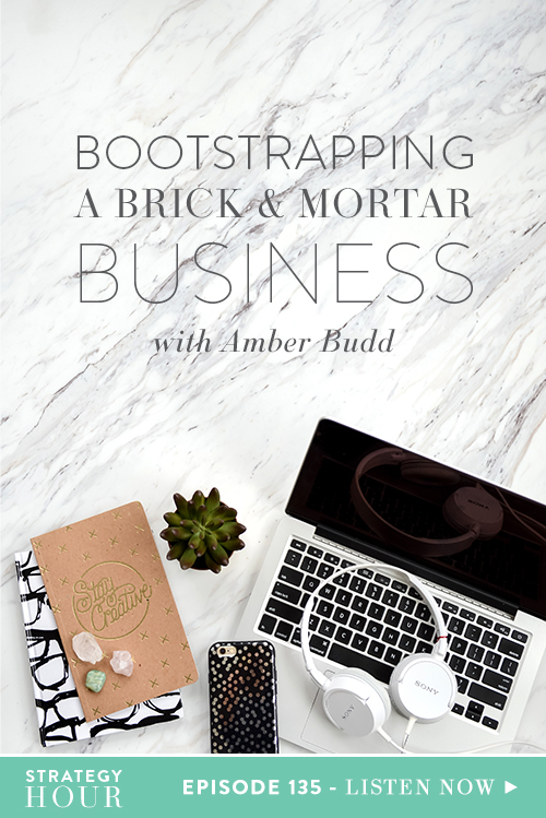 Today on the podcast we welcome Amber Budd. Amber is a self-described skincare nerd and the founder and creator of her own skincare line, Amber Budd Skincare. Starting out with just a $500 loan, Amber left her job at one of the best spa's in the country and founded her own. She has since managed to scale her clients from only ten to hundreds by taking her business one small step at a time.  |  The Strategy Hour  |  Think Creative Collective