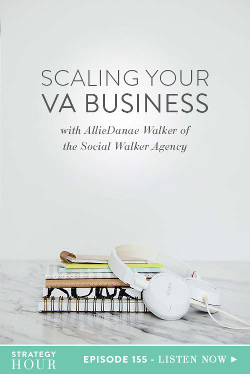 On today's episode, we welcome our good friend and social media whizz, AllieDanae Walker. AllieDanae owns a Virtual Assistant and Social Media Managing company called of The Social Walker Agency. She works with companies, running their online presence and keeping their social platforms in check.  |  The Strategy Hour  | Think Creative Collecitve