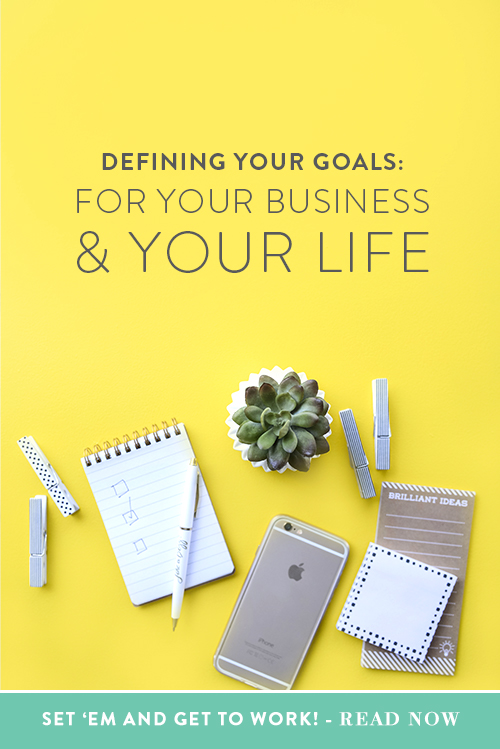 work goals ideas