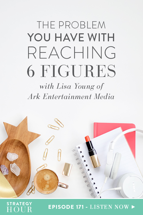 We are super excited to welcome our guest on today's show and know you will love this episode! We talk to Lisa Robbin Young of Ark Entertainment Media about the idea of a six-figure business, something all entrepreneurs have thought about at least once. For many of us, Lisa included, six figures is a bottom line a business needs to reach in order to feel successful.  |  The Strategy Hour  |  Think Creative Collective