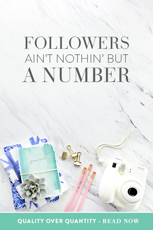 Followers' Ain't Nothin' But A Number  |  Stop what you are doing, the number of social followers you have does not matter! See why.  |  Think Creative