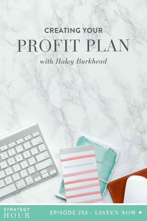Welcome back to the Strategy Hour Podcast, all you beautiful creatures! We have a great show in store for you today, and we cannot wait for you to hear it. We have an extra special unicorn joining us in the form of Haley Burkhead, and she is here to tell us all about her business and her company called Profit Planner.  |  The Strategy Hour  |  Think Creative Collective