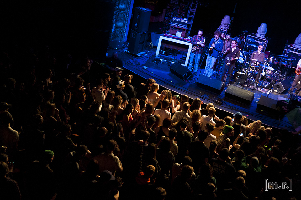 Kung Fu Kongress opening up for Galactic, 2011 Photo: Matt Riley