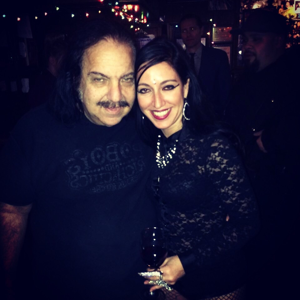 Annamaria and Ron Jeremy hanging at the The Rainbow   photo cred: Max Sequeira
