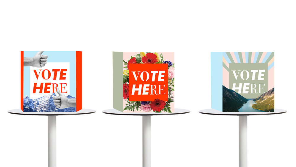 Original Voting Booth prototypes