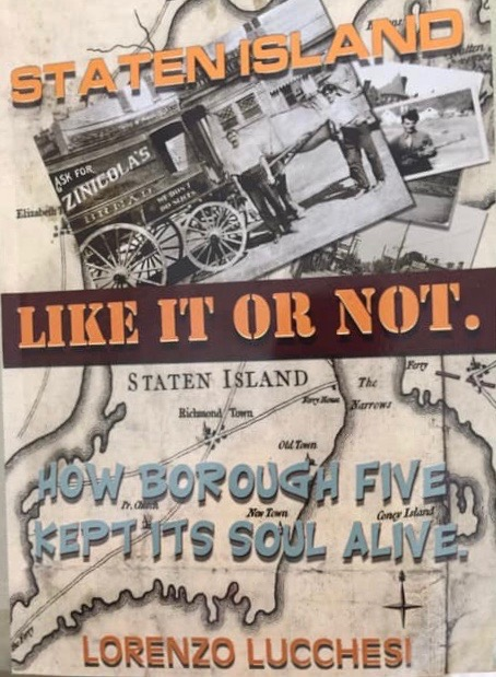 Honored to be part of the new book: Staten Island-Like It Or Not. On sale at Amazon ©2019