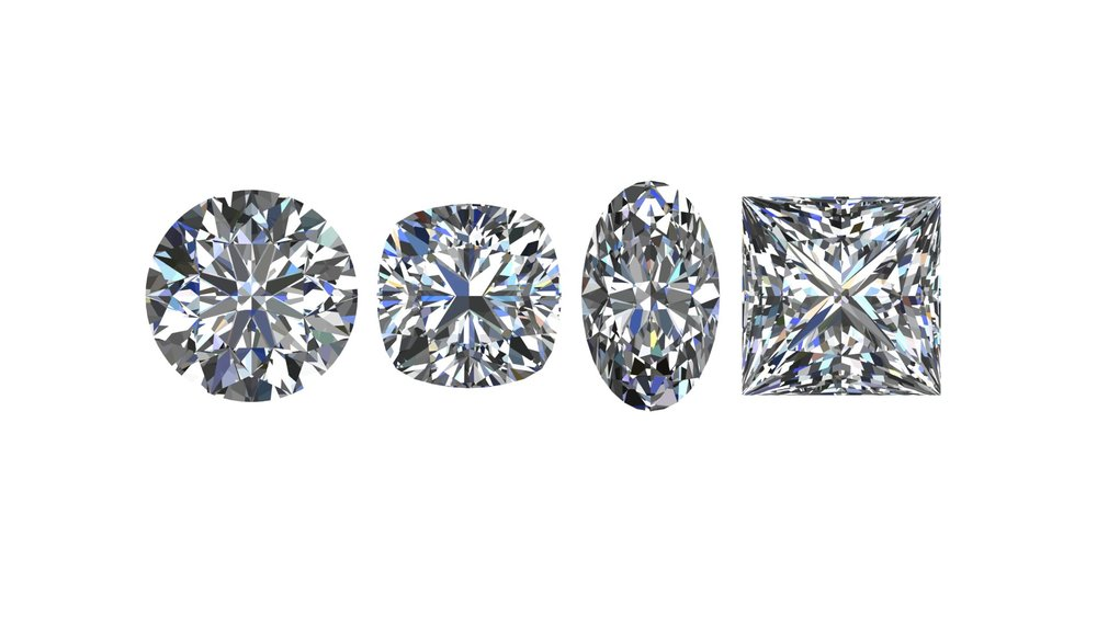 Ethically Sourced GIA Diamonds. - Any shape or size and even custom cuts.Don't want diamonds? We can get any gemstone you want, too!