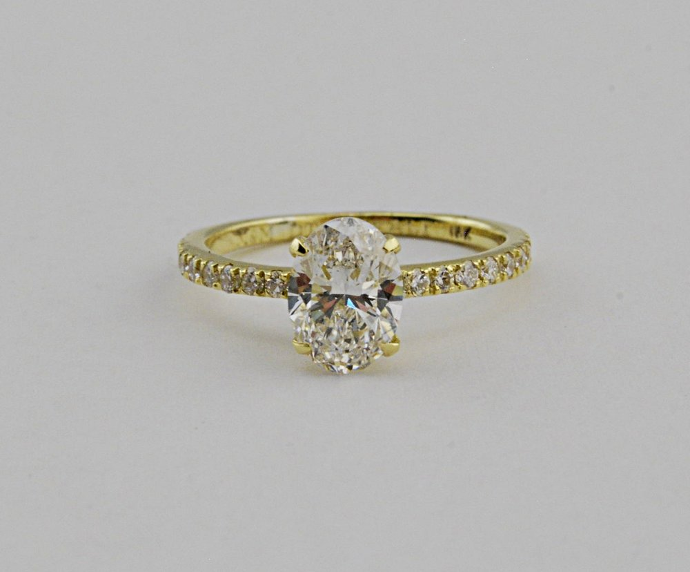 Custom Engagement Rings - We can make your dream ring. Click below to start!