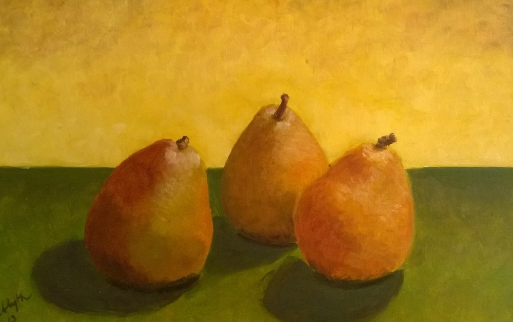 Three Happy Pears