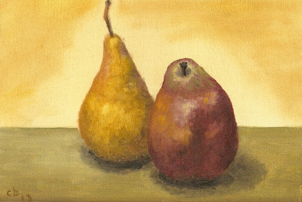 Bosc and Red Pears