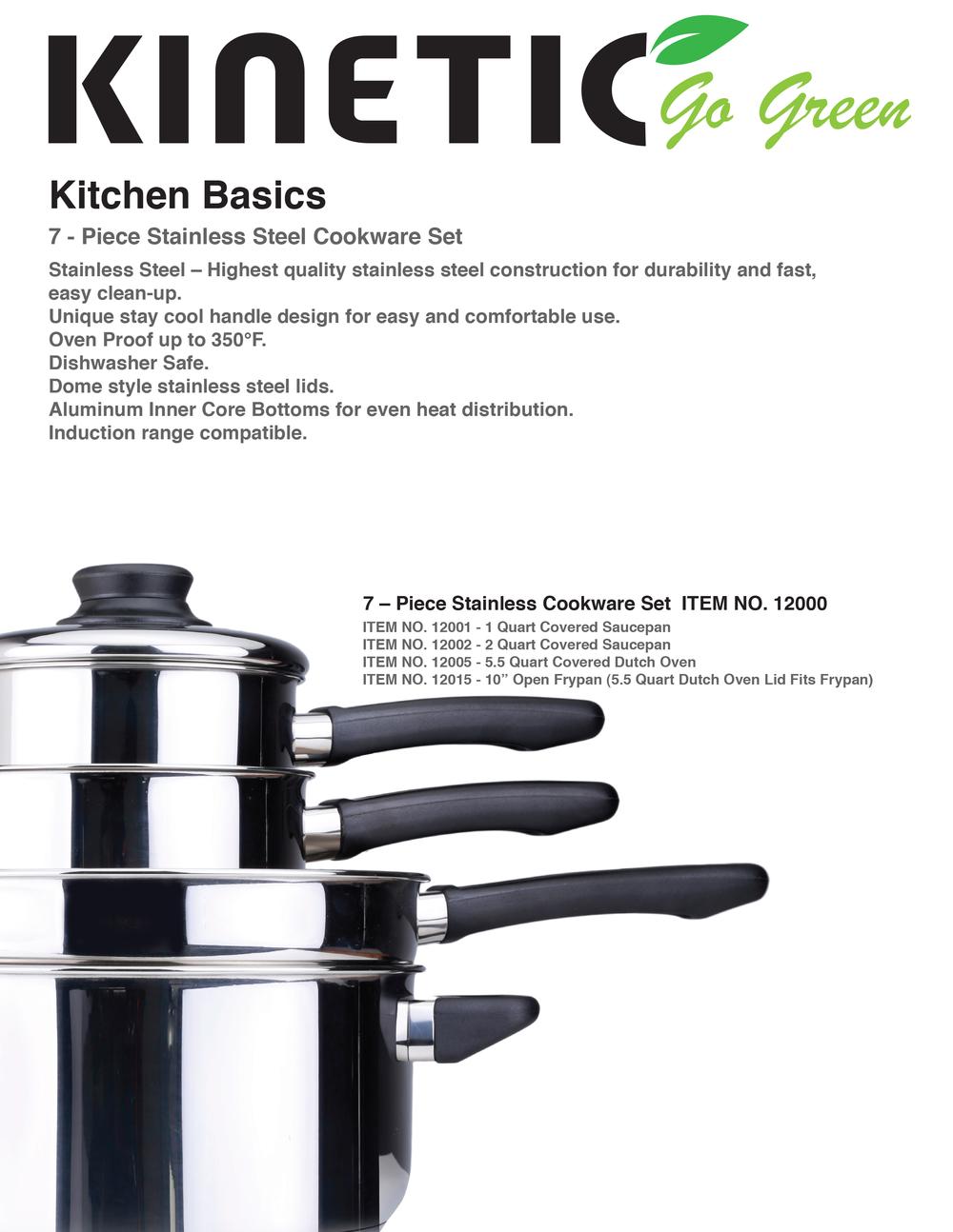 Kitchen Basics — kinetic