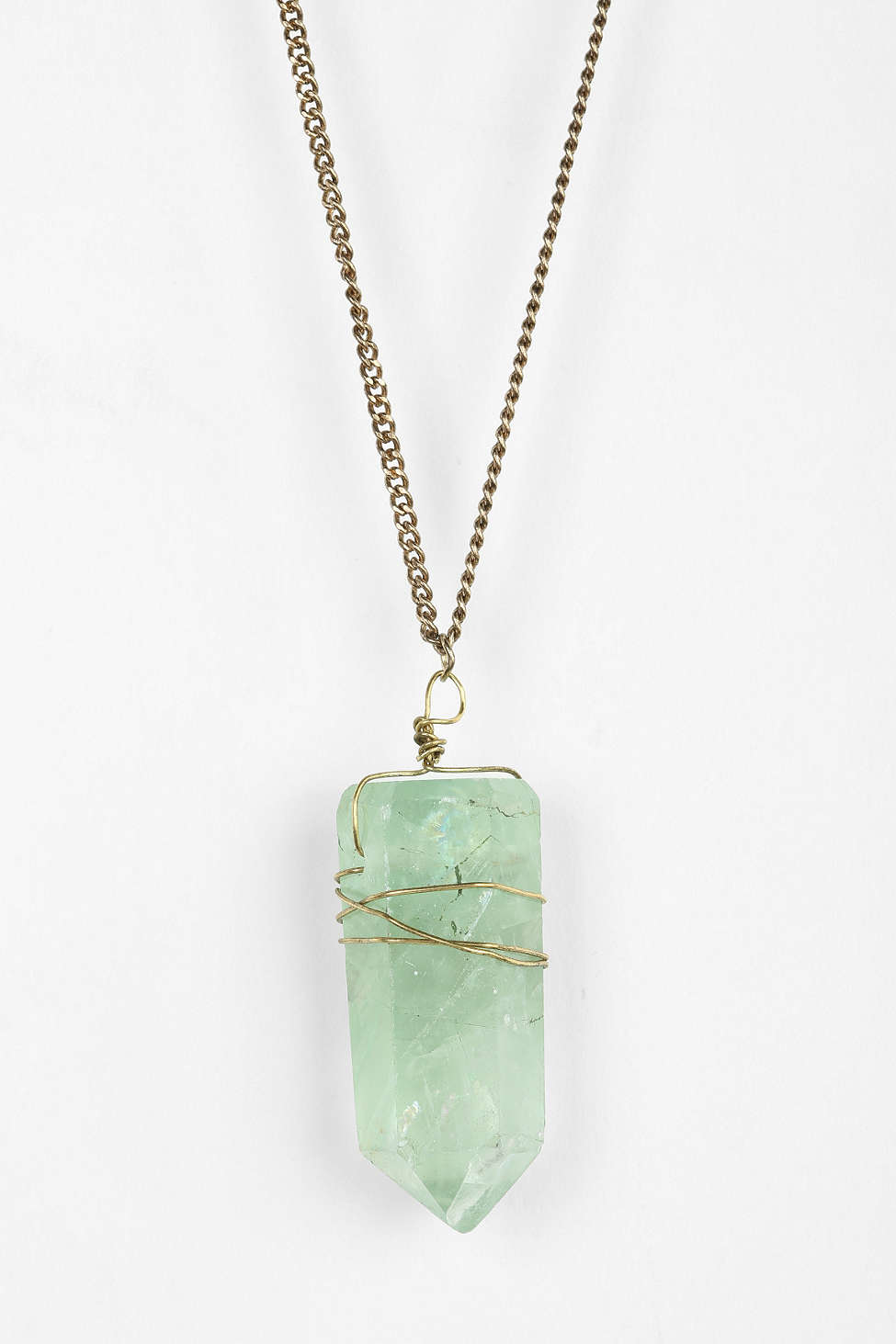 Crystal pendant necklace from  Urban Outfitters