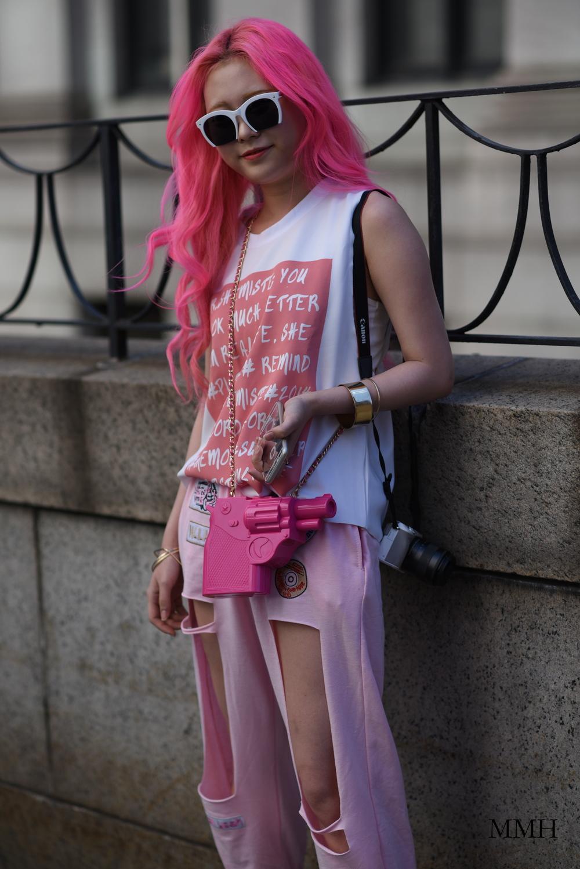 Dangerous in pink