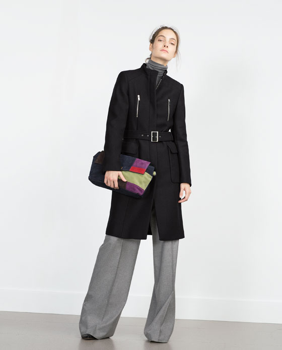 Zara Funnel Coat