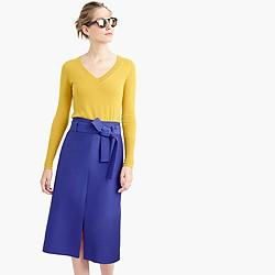 J. Crew A-line Midi Skirt