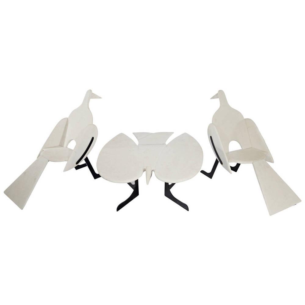 """Claude & Francois-Xavier Lalanne  """"Oiseaux De Marbre"""" Suite $850,000"""