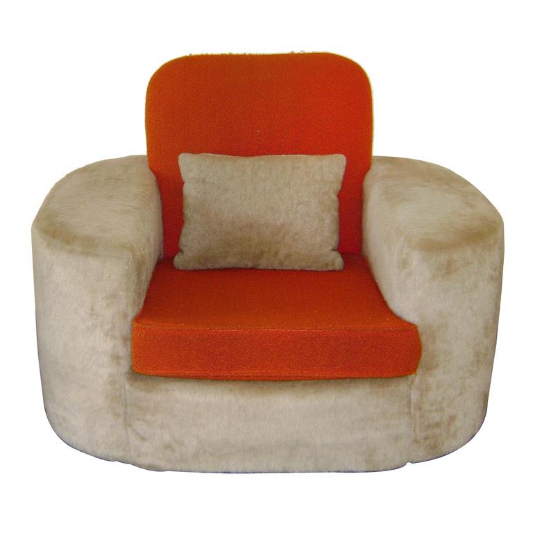 Paul Frankl   Important Lounge Chair POR