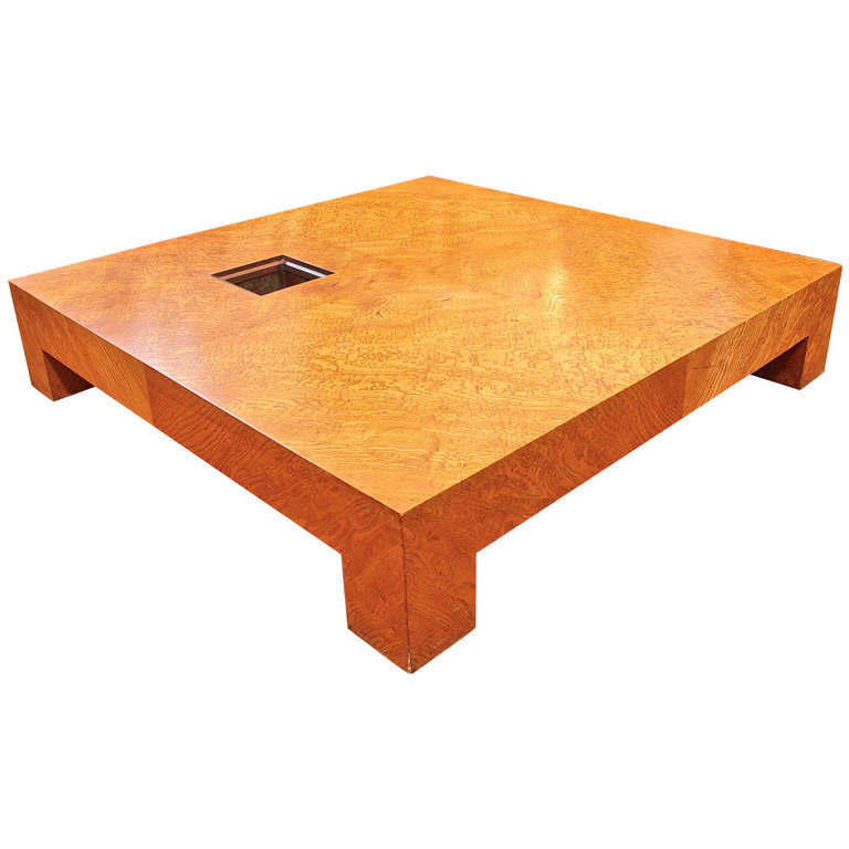 Samuel Marx   Important Cocktail Table. Edward G. Robinson Estate $85,000