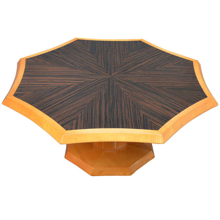 Johan Tapp   Macassar Ebony Top Cocktail Table $12,500