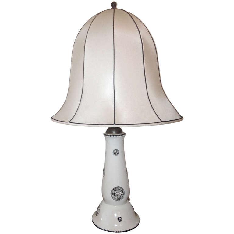 Michael Powolny  Wiener Werkstatte Table Lamp $9,500