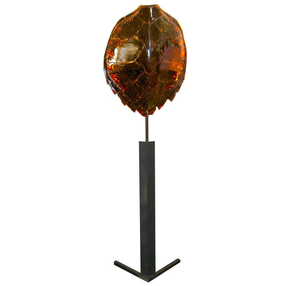Maison Jansen  Tortoiseshell Floor Lamp $9,500