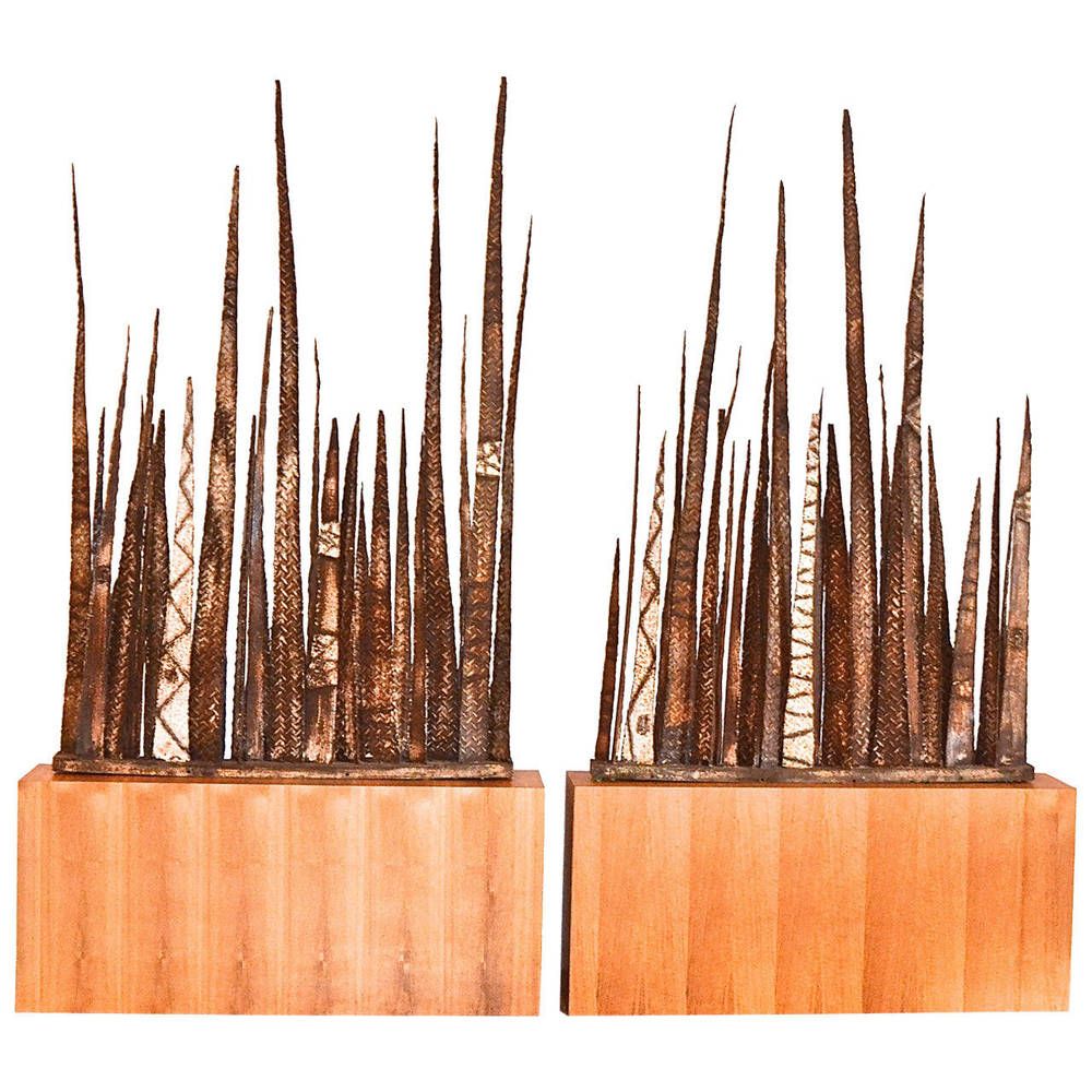 Paul Evans  Stalagmite Floor Sculptures $125,000
