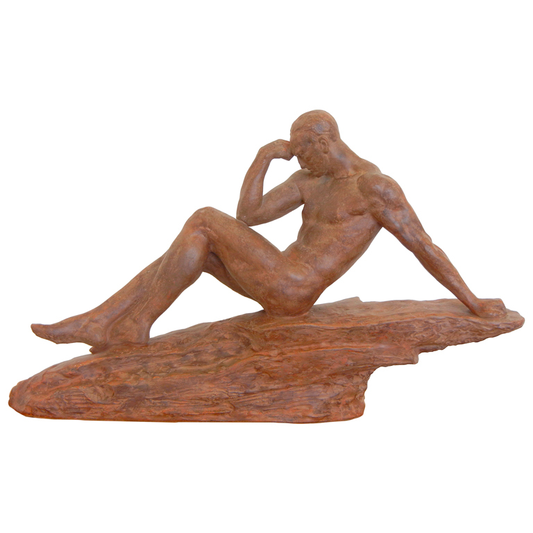 Pierre Le Faguays  Terra Cotta Sculpture $12,500