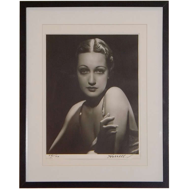 """George Hurrell  """"Dorothy Lamour"""" Photograph $2,500"""