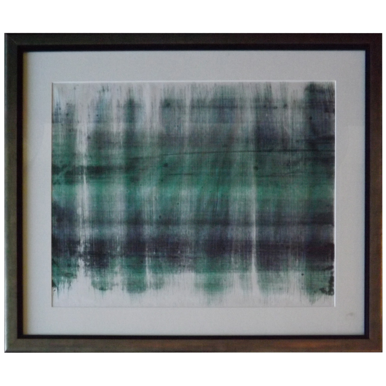 Harry Bertoia  Monotype - Green/Black Line $5,500