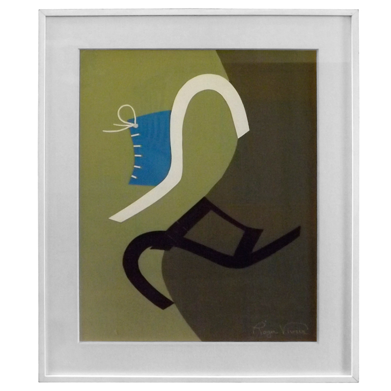 "Roger Vivier  ""Sandales Estate"" Collage $5,500"