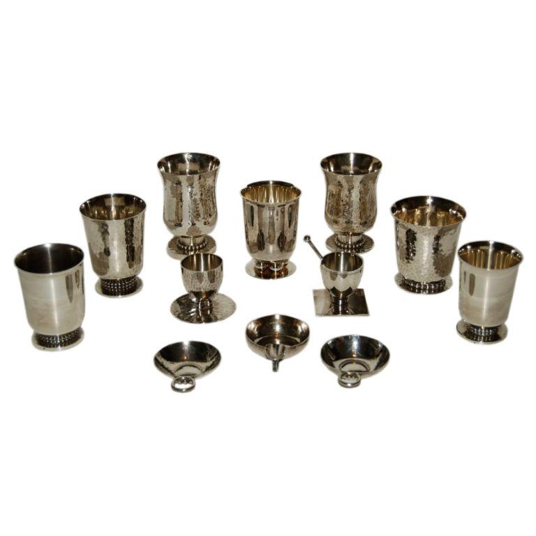 Jean Despres  Silver Accessories $21,500