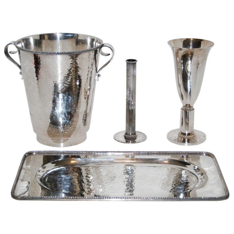 Jean Despres  Silver Tableware 2 $22,500