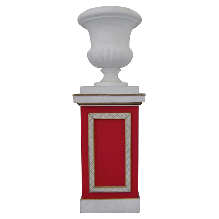 "Jean Michel Frank  ""Medicis"" Urn and Column $45,000"